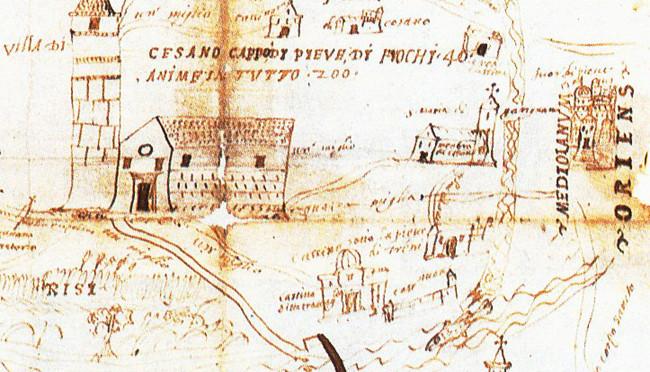 Cesano Boscone,1556. La pieve