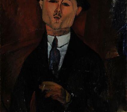 Paul Guillaume, Novo Pilota, di Amedeo Modigliani.